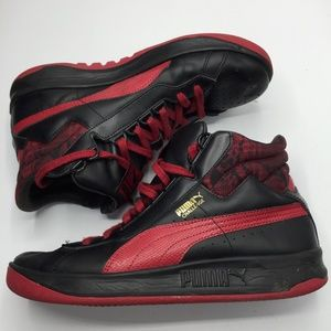 Puma Challenge Leather Sneakers
